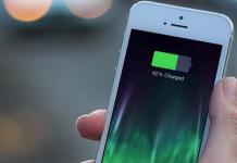 iphone indicando la bateria que le queda